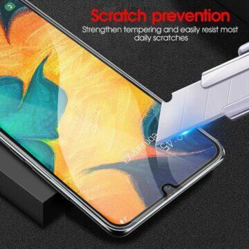 ochranné sklíčko Samsung Galaxy A52 A72 poškrábání
