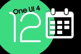 One UI 4 Android 12 datum Samsung