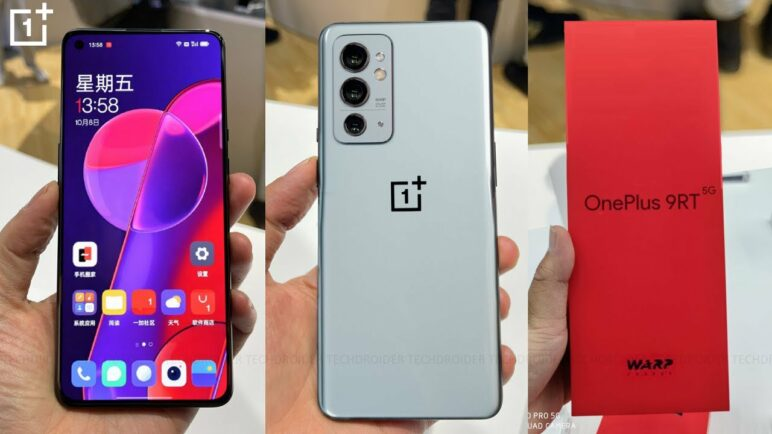 OFICIAL OnePlus 9RT - Snapdragon 888 5G + Warp Charge 65T