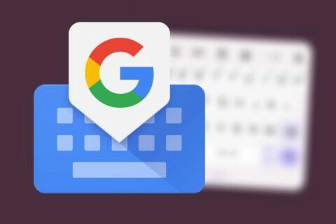 plovoucí klávesnice Gboard Material You