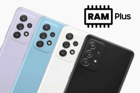 RAM Plus Galaxy A52 Galaxy Z Fold3