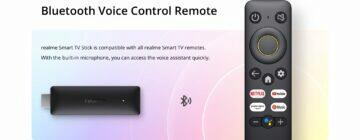 Realme 4K Smart Google TV Stick oficiálně