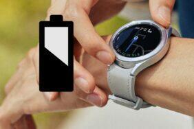 Samsung Galaxy Watch solární články v řemínku