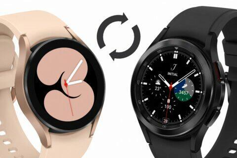 Sasmung Galaxy Watch4 update ciferníky gesta