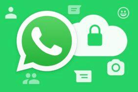 WhatsApp koncové šifrování záloh