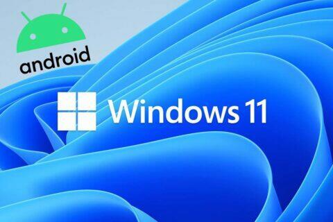 Windows 11 Android aplikace