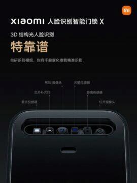 Xiaomi Face Recognition Smart Door Lock X zámek