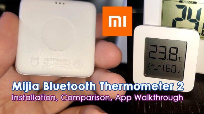 Xiaomi Mijia Bluetooth Thermometer Hygrometer 2 | Comparison, Installation Guide, App Walkthrough