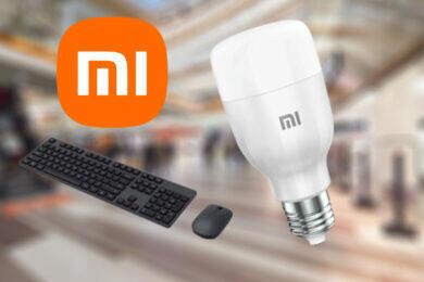 xiaomi produkty klávesnice myš žárovka