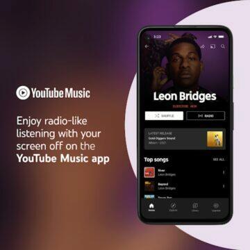 YouTube Music přehrávání na pozadí bez placení