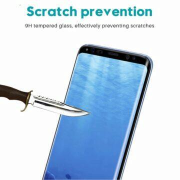 Zakřivená sklíčka pro řady Samsung Galaxy S Note odolnost