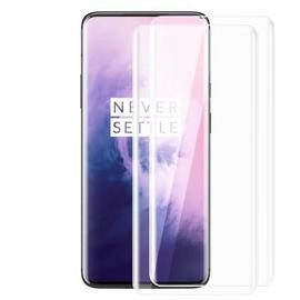 3D Curved Covered Full Screen Tempered Glass Film for OnePlus 7 Pro  - 2pcs