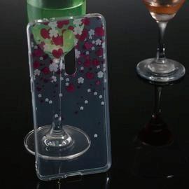 Love Transparent Painted TPU Phone Case for Xiaomi Redmi K20 / K20 Pro
