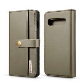 Leather 2-IN-1 Detachable Dual-Use Wallet Phone Case for Samsung S10 Plus
