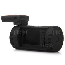 MINI 0826 1.5 inch 1296P HD LCD Screen GPS Car DVR Camcorder