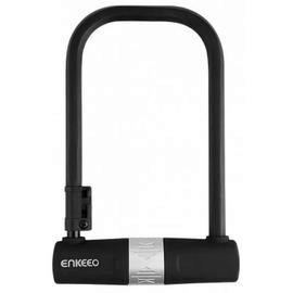 Enkeeo Bike U Lock - BLACK