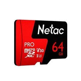 Netac P500 PRO TF Card 64GB - FERRARI RED 64G