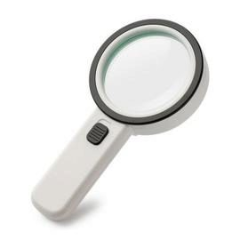 30X Handheld Magnifier LED Light Reading Magnifying Glass