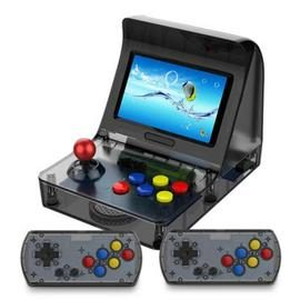 Portable Retro Mini Handheld Game Console 4.3 inch 64bit 3000 Video Games - BLACK