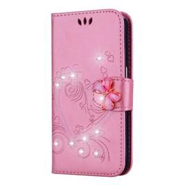 Bling Rhinestone Diamond PU Wallet Phone Case for Samsung Galaxy S8 Case