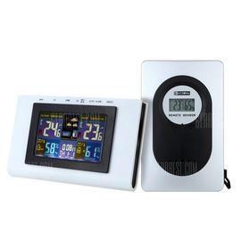 TS - H127G Digital Alarm Clock Weather Station