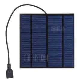 SUNWALK 3W 5V Monocrystalline Silicon Solar Charger Panel