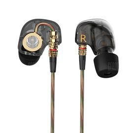 KZ-ATE 3.5mm In-Ear Earphones with Mic HiFi Stereo Headphones Super Bass Sport Headset for iPhone / Samsung