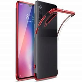 Slim Shock Clear TPU Plating Phone Case for Xiaomi Mi 9 SE