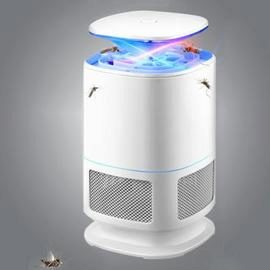 LED Electric Mosquito Killer Lamp Indoor Bug Zapper 220V - WHITE