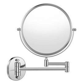 COZZINE Double-sided Swivel Wall Mount Makeup Mirror