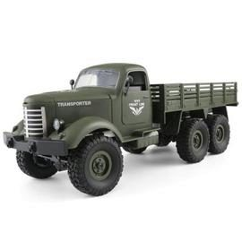 JJRC Q60 6WD RC Off-road Car Inclined Plane Differential - ARMY GREEN