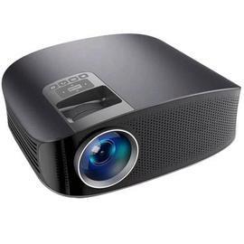 AAO YG600 Wired Sync Display Beamer Multi-screen Home Theatre HDMI VGA USB Video Projector - NATURAL BLACK EU PLUG