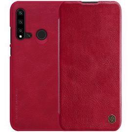 NILLKIN Durable Leather Phone Case for HUAWEI Nova 5i / P20 Lite 2019