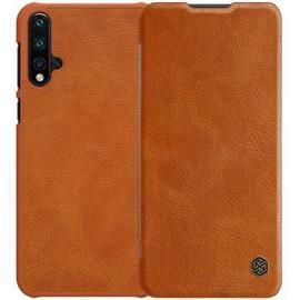 NILLKIN Leather Phone Case for HUAWEI Nova 5 / Nova 5 Pro