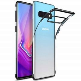 Slim Shock Clear TPU Plating Phone Case for Samsung Galaxy S10