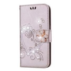 Bling Rhinestone Diamond PU Wallet Phone Case for Samsung Galaxy S10 Plus Case